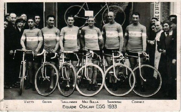 Vestuario de los ciclistas del Tour de Francia en los albores de los 1930